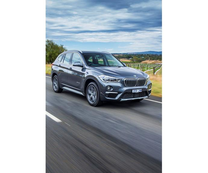 """*BMW X1* Designed by an Australian, the all-new X1 was launched in Oct 2015. Newly-designed interior with significantly improved space and variability, combined with the latest update of the premium ambience for which the brand is renowned. The perfect family vehicle at entry level price for a premium brand. [BMW X1](http://www.bmw.com.au/en/index.html/