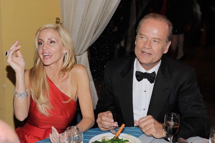 **Kelsey Grammer's** divorce from wife **Camille** was estimated at $60 million.