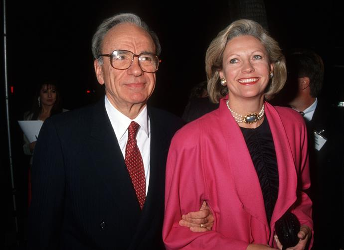 **Rupert Murdoch's** divorce from wife **Anna** was estimated at $100 million.