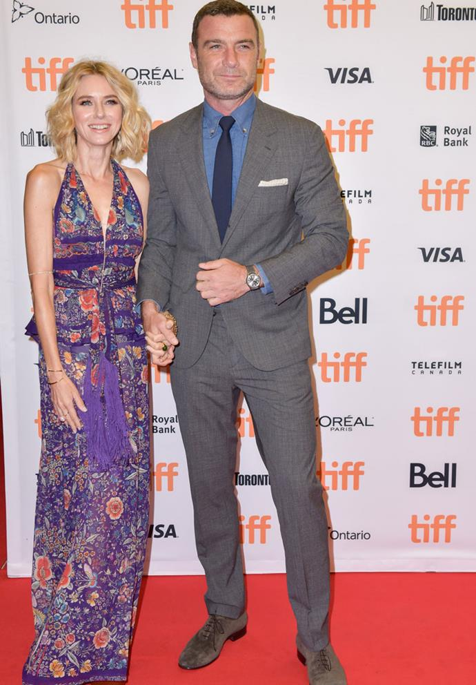 Naomi and Liev holding hands in Canada earlier this month. PHOTO: Getty