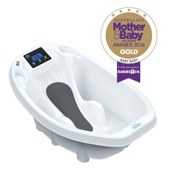 "CATEGORY: MOST POPULAR BABY BATH. The [Roger Armstrong Aqua Scale Bath](http://www.rogerarmstrong.com.au/|target=""_blank"") RRP $119.95 includes a digital scale which weighs the baby and tells the bath water temperature."