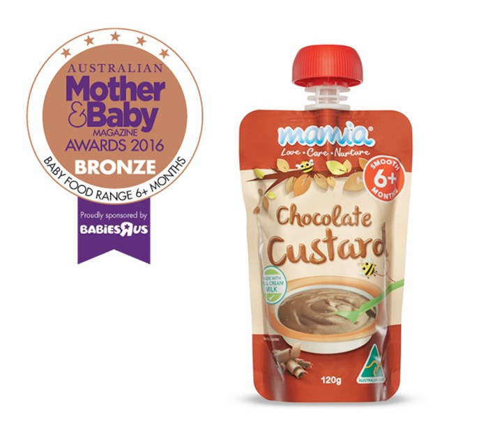 """CATEGORY: MOST POPULAR BABY FOOD. [ALDI Mamia Baby Food Desserts](https://www.aldi.com.au/ target=""""_blank"""") RRP $1.19 are made with full cream milk, have no artificial colours or flavours and no added preservatives."""