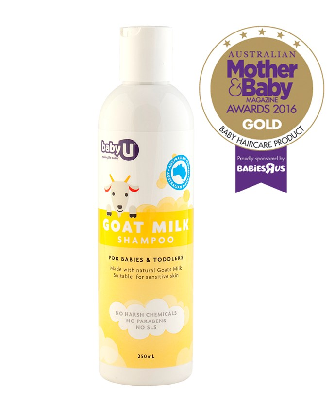 """CATEGORY: MOST POPULAR BABY HAIRCARE PRODUCT. [Baby U Goat Milk Shampoo](http://www.nicepak.com.au/