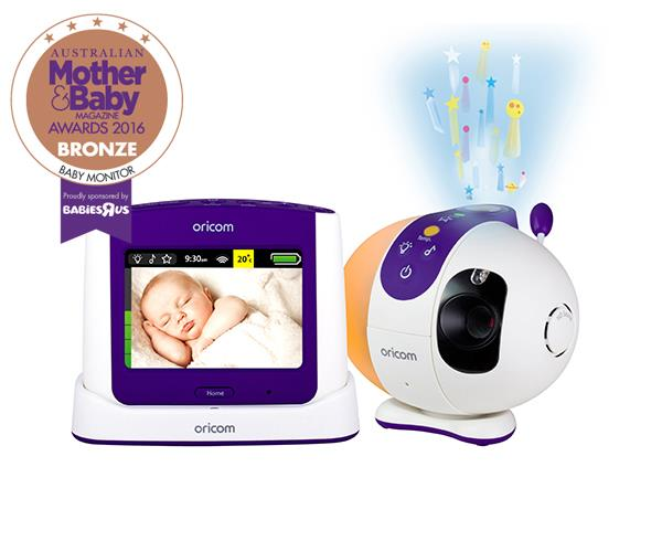 "CATEGORY: MOST POPULAR BABY MONITOR. The [Oricom SC870](http://www.oricom.com.au/|target=""_blank"") RRP $359 features a touchscreen, night vision and motorised pan-tilt camera."