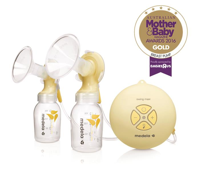 """CATEGORY: MOST POPULAR BREAST PUMP. The [Medela Swing Maxi Double Electric Breast Pump](https://www.medela.com.au/ target=""""_blank"""") RRP $449.95 supports milk supply, is time-saving and offers a range of vacuum levels and settings."""