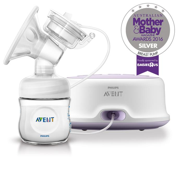 """CATEGORY: MOST POPULAR BREAST PUMP. The [Philips AVENT Comfort Single Electric Breast Pump](https://www.philips.com.au/Avent/ target=""""_blank"""") RRP $249.95 offers comfortable, easy expressing with adjustable speed and suction settings."""