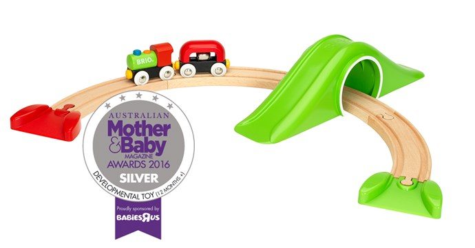 "CATEGORY: MOST POPULAR DEVELOPMENTAL TOY (12+ MONTHS). The [BRIO My First Railway Starter Pack](https://www.childsmart.com.au/|target=""_blank"") RRP $39.95 features a train, tunnel and clever connection magnets making it perfect for inquisitive toddlers."