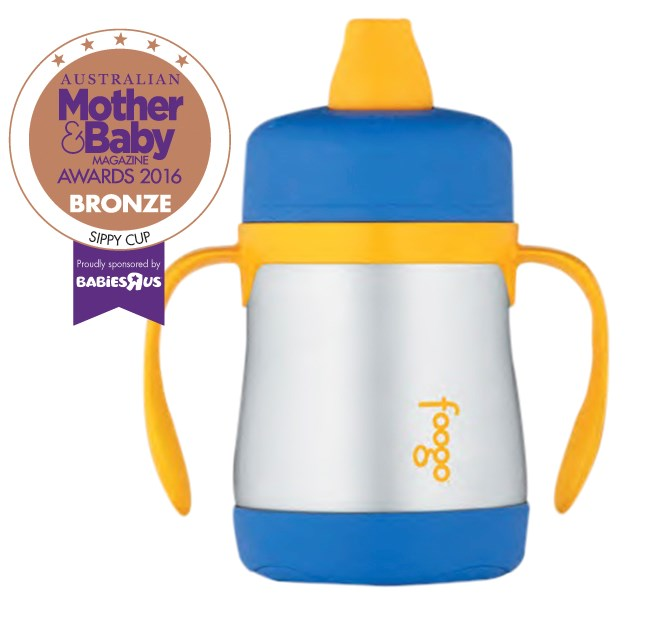 """CATEGORY: MOST POPULAR SIPPY CUP. [Thermos Foogo Stainless Steel Vacuum Insulated Sippy Cup](http://www.thermos.com.au/ target=""""_blank"""") RRP $29.99 keeps beverages cool and fresh for up to six hours. It's BPA-free, durable and comfortable on gums."""
