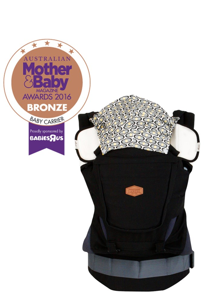 "CATEGORY: MOST POPULAR BABY CARRIER [i-angel Hip Seat Rainbow Carrier](http://www.i-angelaustralia.com.au/|target=""_blank""), RRP $245. The Rainbow carrier is a multi-functional carrier: one item with three effects. In summer you can detach the cover leaving only the cool mesh lining. In winter reattach the cover to keep your baby warm.It comes complete with a sleeping hood and organic teething pads."