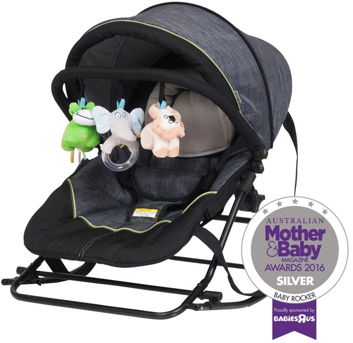 """CATEGORY: MOST POPULAR BABY ROCKER The [Steelcraft Denim Rocker](http://www.britax.com.au/