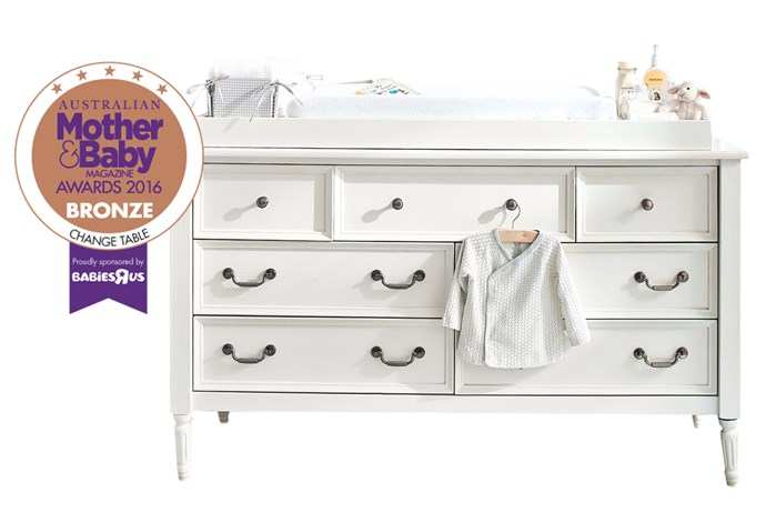 """CATEGORY: MOST POPULAR CHANGE TABLE The [Pottery Barn Kids Blythe Extra-Wide Changing Table](http://www.potterybarnkids.com.au/