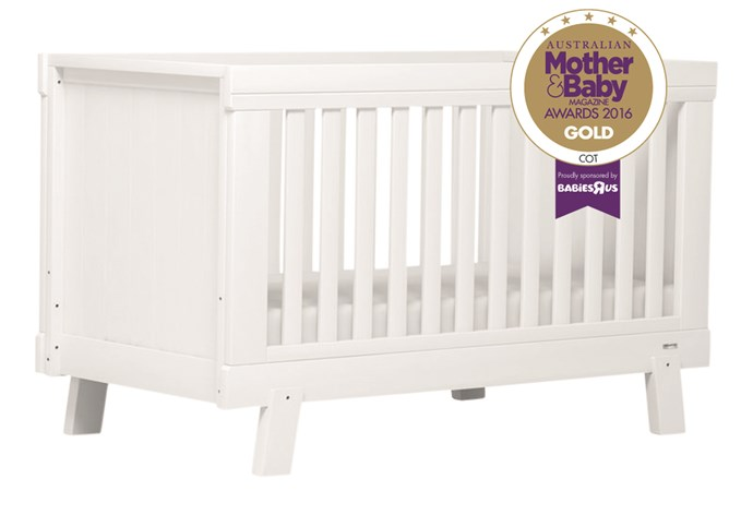"CATEGORY: MOST POPULAR COT The [Boori Lucia Convertible Plus](http://www.boori.com.au/|target=""_blank""), RRP $699.95, give your new nursery a sense of serenity."