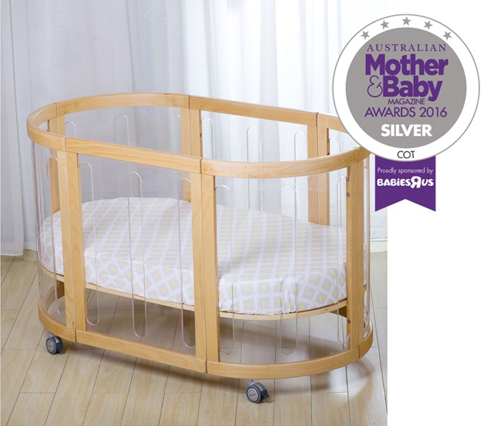 "CATEGORY: MOST POPULAR COT The [Babyhood Kaylula Sova 5 in 1 Cot](http://www.babyhood.com.au/|target=""_blank""), RRP $1299, is revolutionary with its unique clear panels which allow your baby to wake free as bird each morning and see straight out into the world ahead. Versatile, the cot evolves with your little one from babyhood to adulthood."
