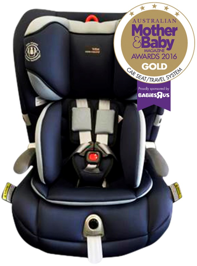 "CATEGORY: CAR SEAT TRAVEL SYSTEM The [Britax Safe-n-Sound Maxi Guard PRO](http://www.britax.com.au/|target=""_blank""), RRP $549, keeps your child securely restrained and safer. The seas features Britax light coloured shell, two position recline, push button harness and pivoting armrests."