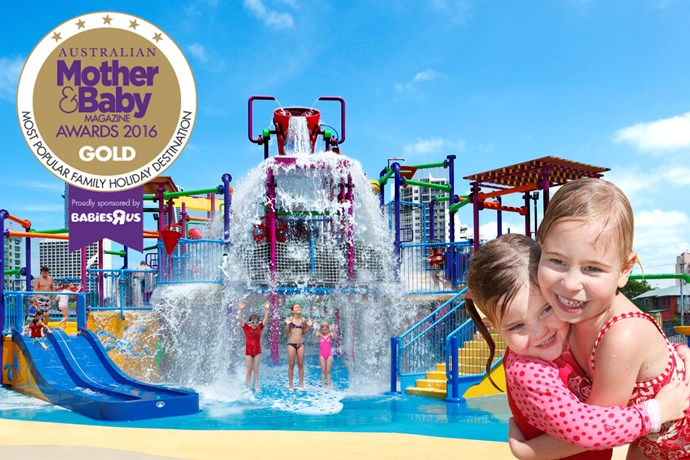 """*Paradise Resort Gold Coast* [Paradise Resort ](http://www.paradiseresort.com.au/ target=""""_blank"""") is a family resort with a waterpark, ice rink and kids club. Discover a heaven for kids and paradise for parents."""