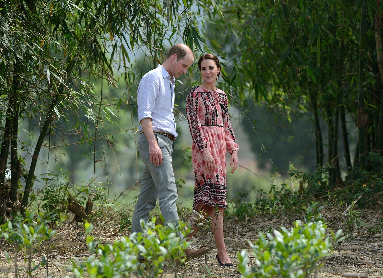 When the Duchess chose a high street dress from Topshop for her trip to India earlier this year, the boho-style frock sold out in minutes. There's no denying the Duchess is a fashion powerhouse!