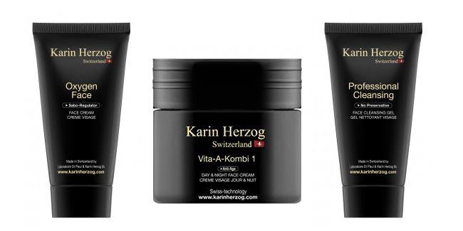 "Kate is said to swear by [Karin Herzog Oxygen Face Cream, Mild Scrub and Professional Cleanser pack](http://www.karinherzog.com.au/products/kate-s-favourites-oxygen-face-mild-scrub-and-free-professional-cleansing-cream|target=""_blank""