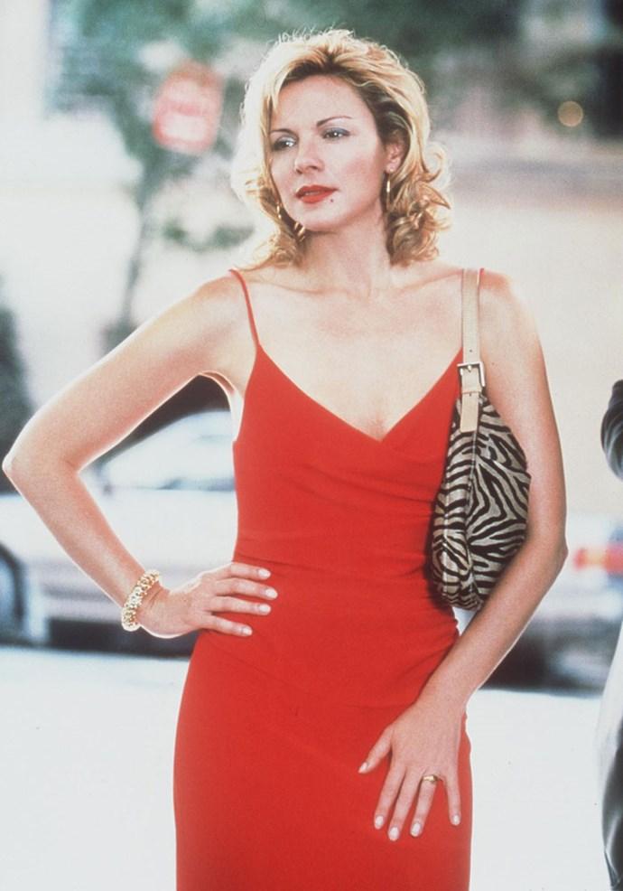 Kim playing Samantha in 1999. PHOTO: Getty/Handout