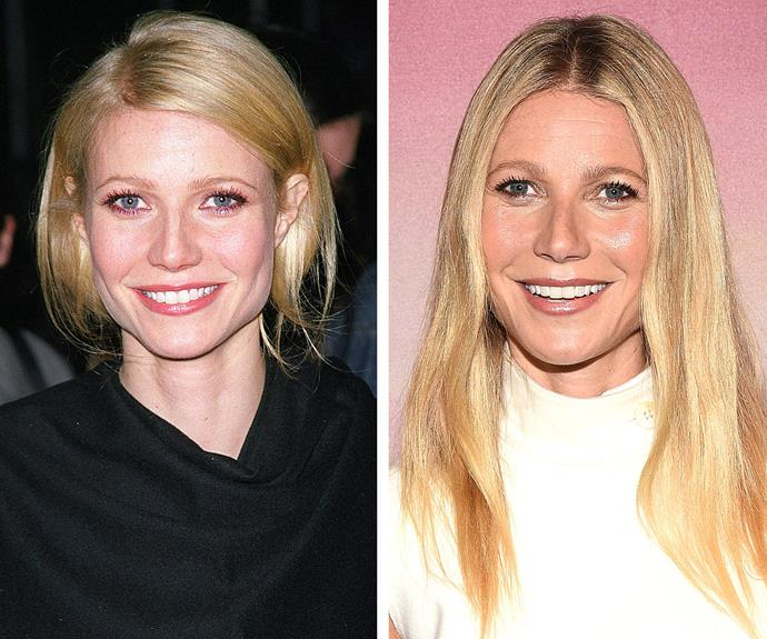 Gwyneth Paltrow, snapped 15 years apart, has been known to do just about anything on the pursuit of a youthful glow, including bee-sting facials...
