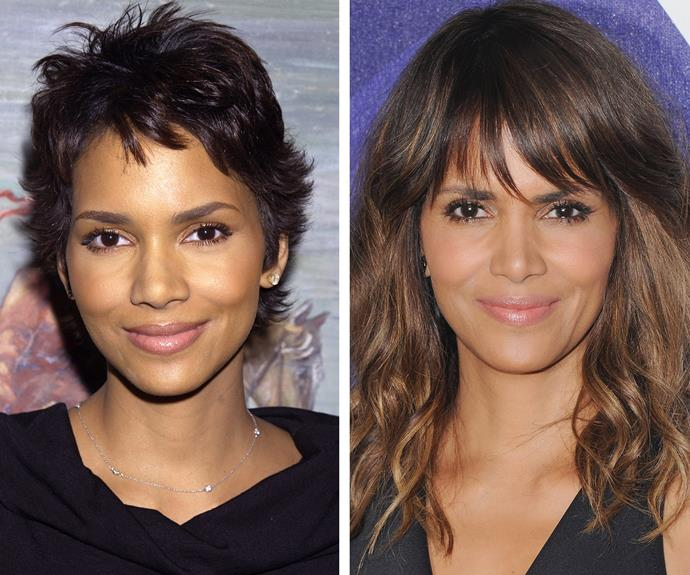 Besides a stunning new hairstyle, not a lot has changed for Halle Berry throughout her time in the spotlight.