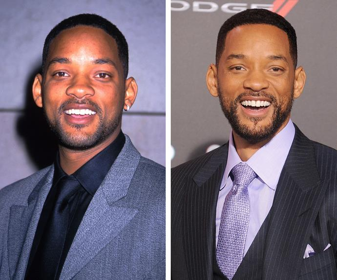 Think about it: 17 years, two kids and a flurry of films later, Will Smith still looks like the Fresh Prince of Bel Air.