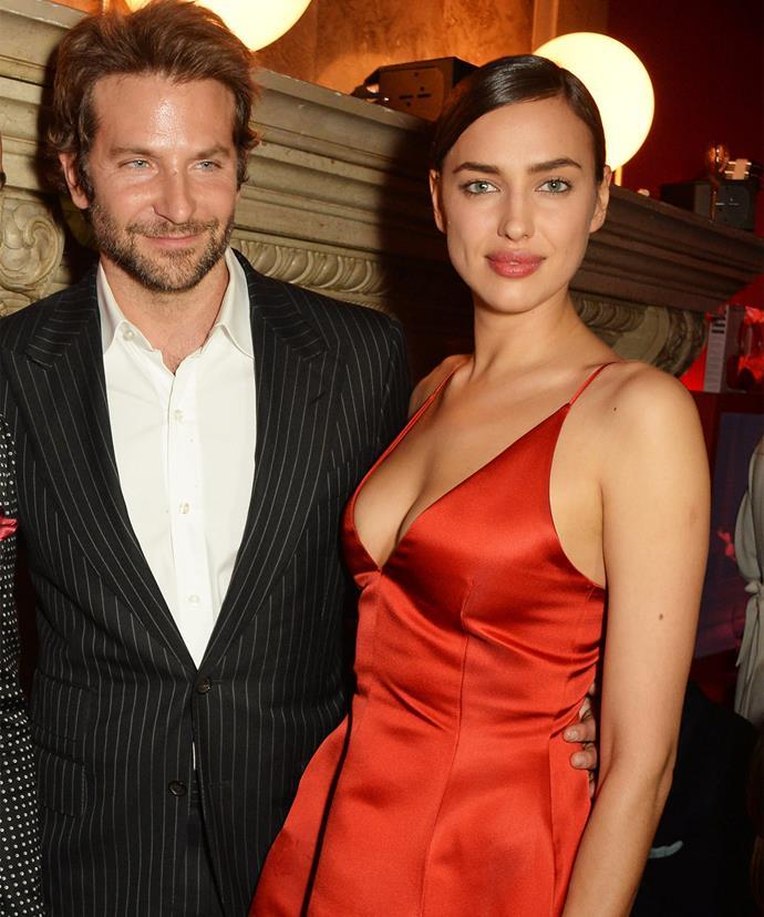 Bradley's girlfriend Irina wasn't at the wedding.