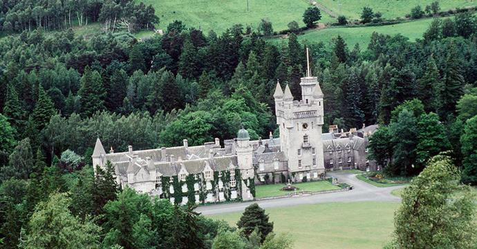 Balmoral Castle is the personal and private property of the Queen, and is generally used by the royal family for eight to ten weeks each year during August - October.