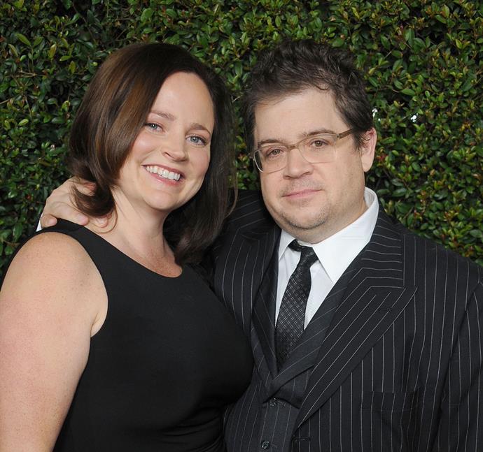 Patton Oswalt and his late wife Michelle McNamara