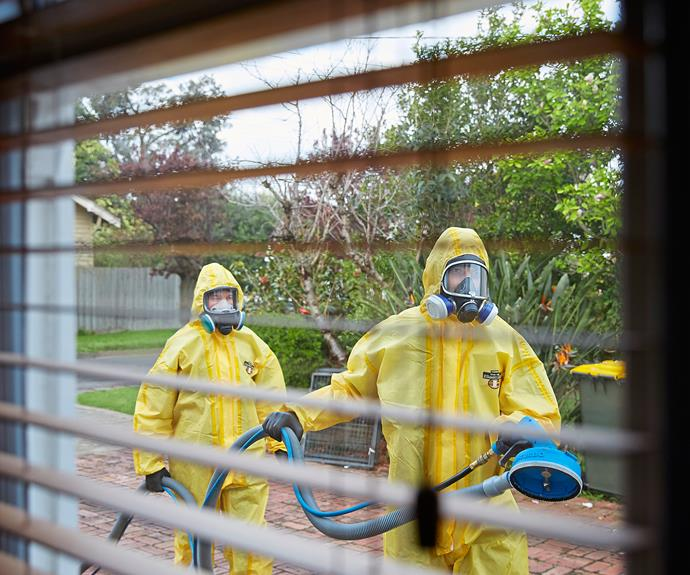 Cleaning up meth labs in public housing cost the Queensland government $600,000 over three years. PHOTO: Nick Cubbin