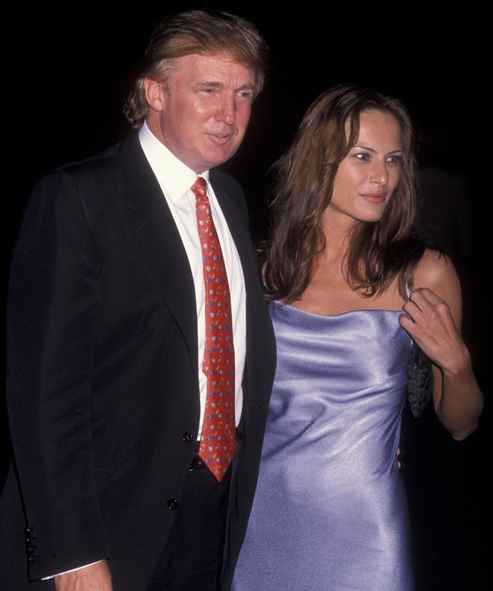 Donald and Melania first met in 1998.
