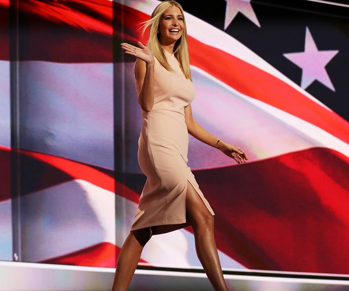 Ivanka Trump is ready to be America's first daughter.