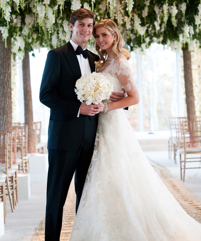 Ivanka and Jared tied the knot in 2009.