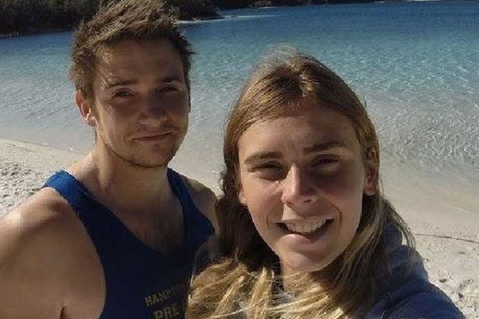 Wither her boyfriend Luke. PHOTO: Facebook