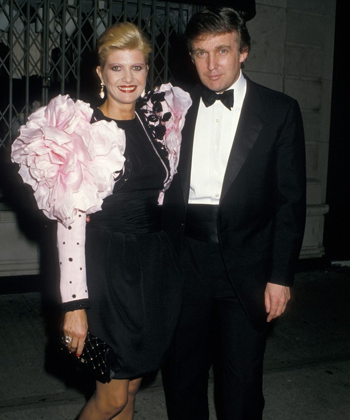 Ivana and Donald were married from 1977-1992