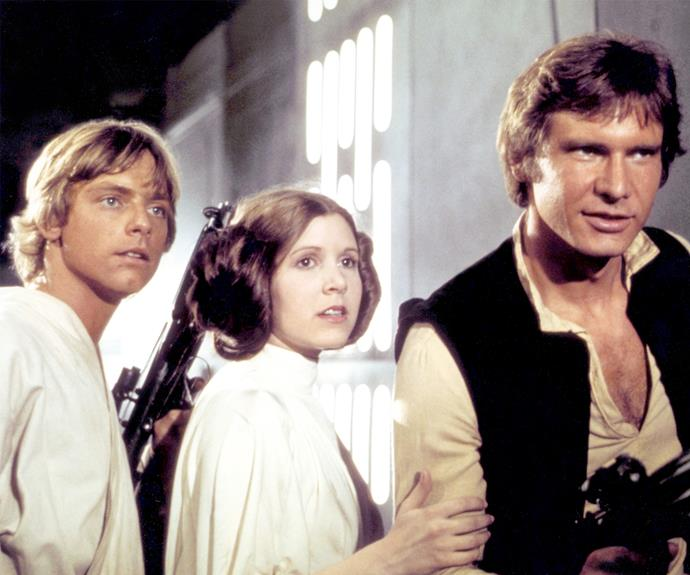 Princess Leia and Han Solo's chemistry spilled off set!