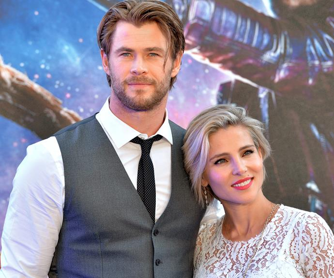 Chris Hemsworth married his wife Elsa Pataky in 2010.