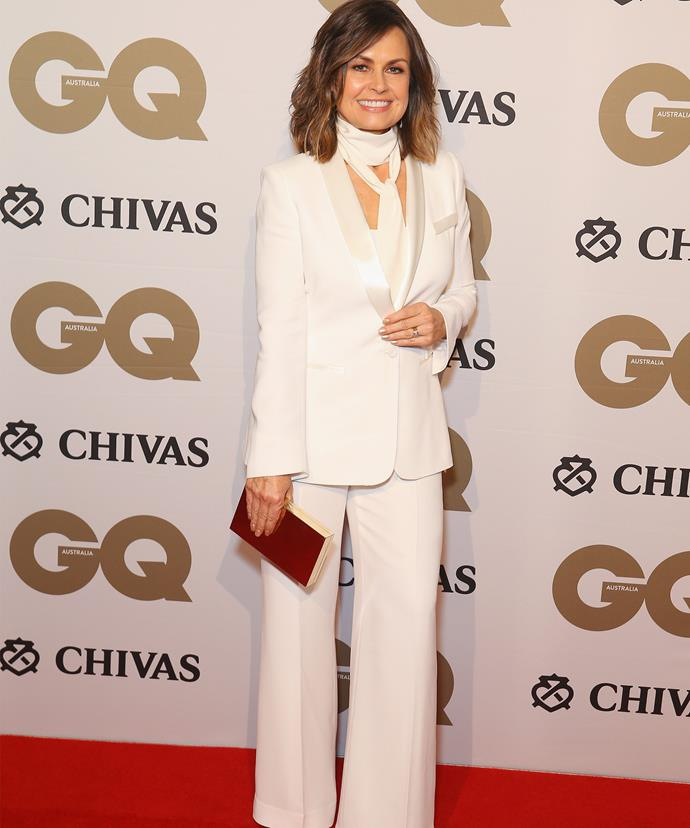 *Today* host Lisa Wilkinson attended the A-List event in Sydney's nightclub, The Ivy.