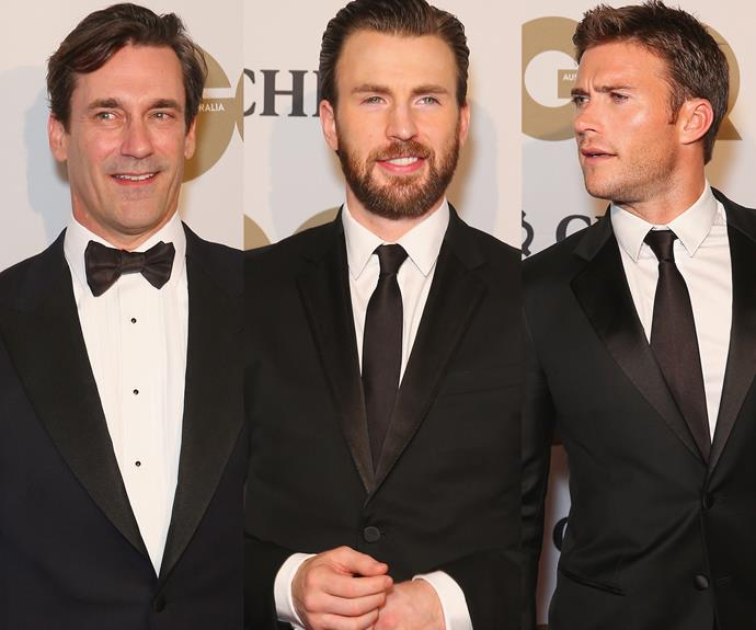 Hollywood hit Sydney with the likes of Jon Hamm, Chris Evans and Scott Eastwood.
