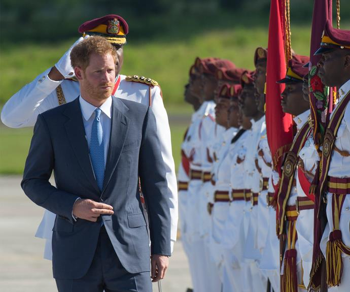 On Sunday, November 20, Prince Harry arrived in Antigua for his royal tour of the Caribbean.