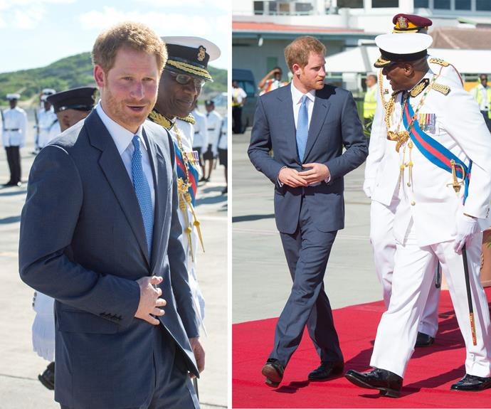 """""""Prince Harry holds special memories of his last visit to the Caribbean, and of the warmth, friendliness and sense of fun that comes so naturally to this region,"""" a spokesperson for Kensington Palace said in a statement."""