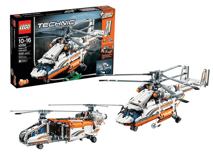 [LEGO Technic Heavy Lift Helicopter](https://www.target.com.au/p/lego-reg-technic-heavy-lift-helicopter-42-52/59258971),  $198 Before they can fly this amazing 2 in 1 model, they have to build it which means more bang for your buck. Featuring authentic helicopter details, your child is so in control of the aircraft it's as if they are sitting in the cockpit. Spin the contra-rotating rotors, lower the loading ramp, open the cargo bay doors, lower the winch and hoist up the included cargo. Then, when they're bored of that, they can dismantle the model and rebuild it into a powerful Tandem Rotor Helicopter. Ages 10-16.