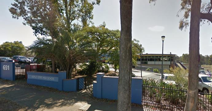 Aspley State High School says they weren't aware of the incident which saw Tyrone Hospitalised. PHOTO: Google Street View.