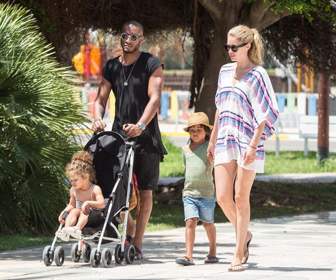 Doutzen Kroes shares two sweet kids with husband DJ Sunnery James - Phyllon, five, and Myllena, two.
