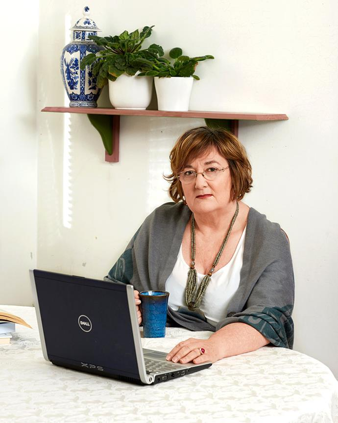 Jan Marshall lost her $260,000 superannuation to a scammer. PHOTO: MARNIE HADDAD.