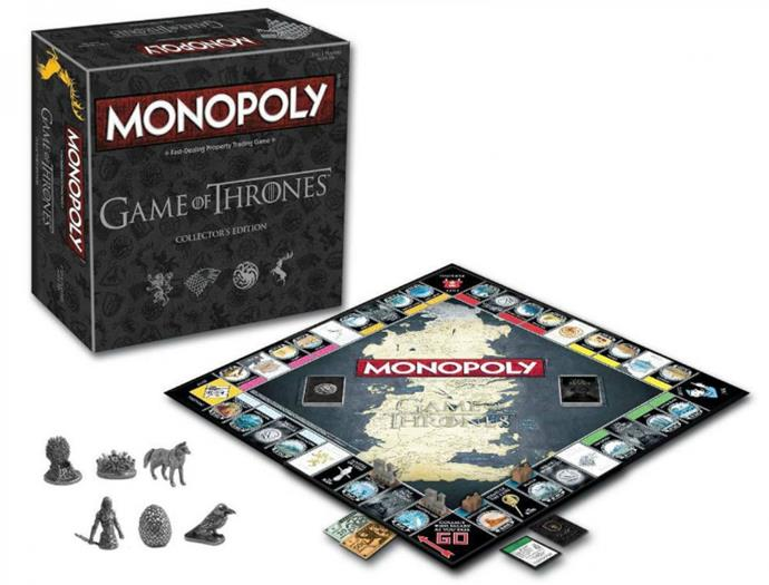 Featuring locations including Castle Black, Winterfell and King's Landing, this collector's edition of *Game of Thrones* Monopoly is the perfect gift for any GoT fans. *[Monopoly: Game of Thrones Collector's Edition](https://www.bigw.com.au/product/monopoly-monopoly-game-of-thrones-collector-s-edition/p/WCC100000000298321), $59.*