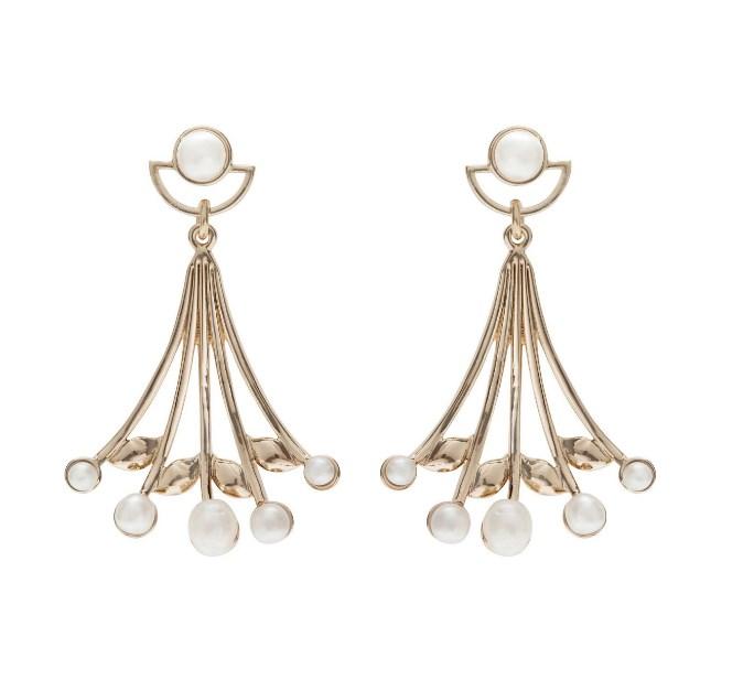 These elegant earrings will be well-received on Christmas morning! [Lulu Frost Alesia Earring](http://shop.davidjones.com.au/djs/en/davidjones/alesia-earring), $370.