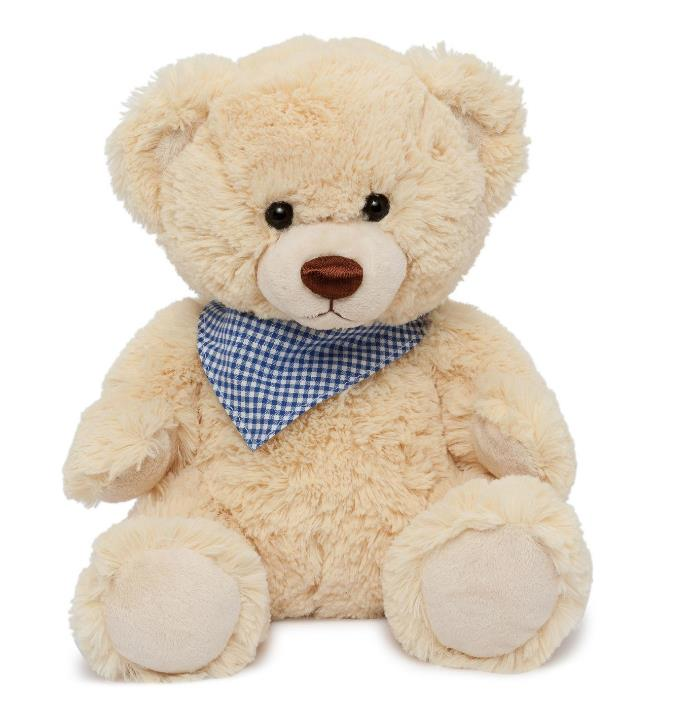 Baby's first Christmas? Give them this gorgeous cuddly bear as a memorable keepsake they'll cherish forever. [Clemens Bear Enrico the Teddy](http://shop.davidjones.com.au/djs/ProductDisplay?catalogId=10051&productId=5596011&langId=-1&storeId=10051), $49.95.
