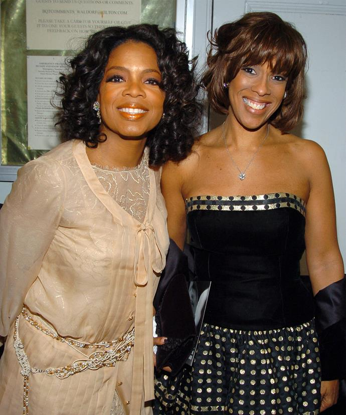 how did oprah and gayle meet
