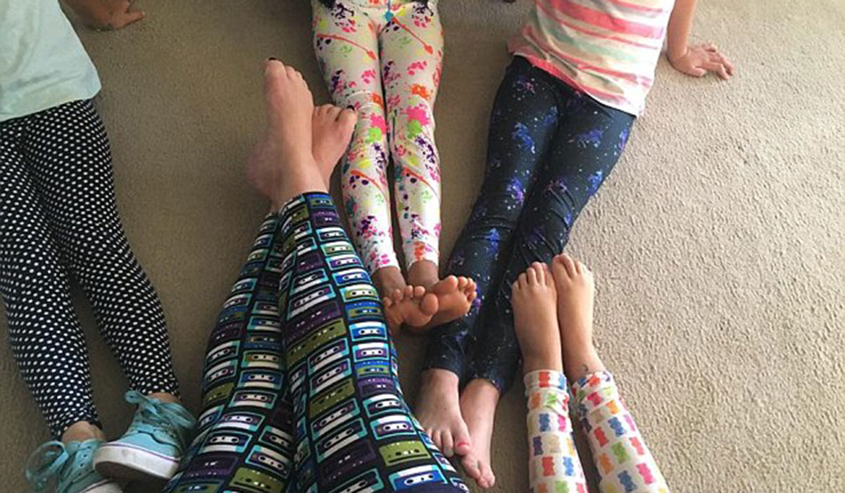 This Plus Size Mom Received Hate Mail for Wearing Leggings