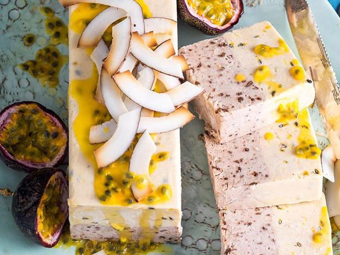 [Fresh fruit semifreddo recipe here.](http://www.foodtolove.com.au/recipes/fresh-fruit-semifreddo-27173)